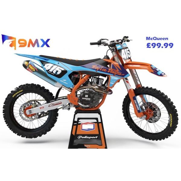 McQueen Series – KTM SX/SXF/EXC/EXC-F Graphics Kit - Semi Custom