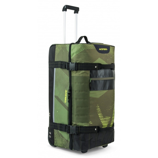 ACERBIS X-TRIP Motocross & Dirt Bike Travel KIT Bag 105ltr - GREEN